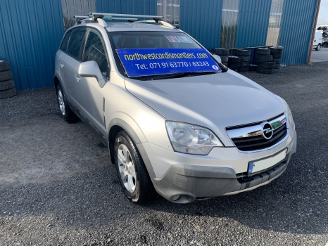 OPEL ANTARA E 2.0 CDTI 16V ELEGANCE 150PS 2006-2010 SUSPENSION - LHF 2006,2007,2008,2009,2010OPEL ANTARA E 2.0 CDTI 16V ELEGANCE 150PS 2006-2010 SUSPENSION - LHF