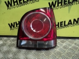 VOLKSWAGEN POLO 1.4 S TDI 5DR 70 2005-2009 TAILLIGHTS RIGHT HATCHBACK 2005,2006,2007,2008,2009VOLKSWAGEN POLO 1.4 S TDI 5DR 70 2005-2009 TAILLIGHTS RIGHT HATCHBACK