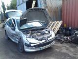 PEUGEOT 206 LX 2002 BOOT RAMS 2002PEUGEOT 206 LX 2002 BOOT RAMS