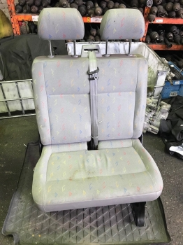VOLKSWAGEN TRANSPORTER T5 2004-2010 SEAT - FRONT PASSENGER CLOTH BENCH 6