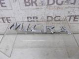 NISSAN MICRA K13 2013-2017 MICRA BADGE 2013,2014,2015,2016,2017NISSAN MICRA K13 2013-2017 MICRA BADGE