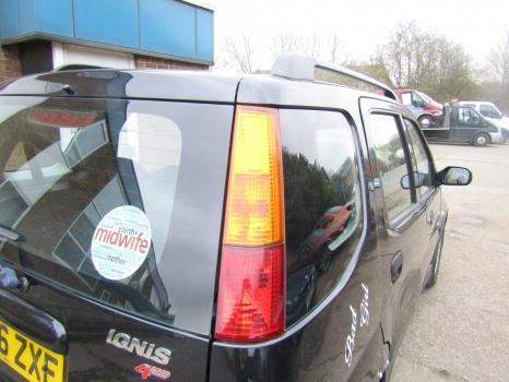 SUZUKI IGNIS GLX VVT-S 4GRIP HATCHBACK 5 Door 2003-2006 REAR/TAIL LIGHT (DRIVER SIDE) 2003,2004,2005,2006SUZUKI IGNIS 4GRIP 5 Door 2003-2006 REAR/TAIL LIGHT (DRIVER SIDE)