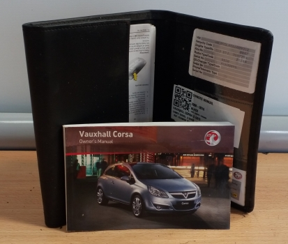 VAUXHALL CORSA S CDTI 2006-2015 OWNERS MANUAL