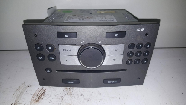 VAUXHALL ZAFIRA CDTI MPV 2005-2011 CD HEAD UNIT