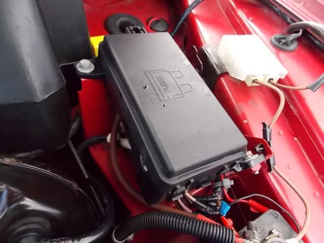 MG MGTF 160 2002-2009 FUSE BOX COVER 2002,2003,2004,2005,2006,2007,2008,2009MG MGTF 160  1995-2003 FUSE BOX COVER