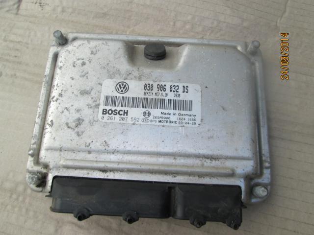 VOLKSWAGEN POLO BASE SALOON 1999-2001 ECU (ENGINE) 1999,2000,2001VOLKSWAGEN POLO BASE  SALOON  1999-2002 ECU (ENGINE)