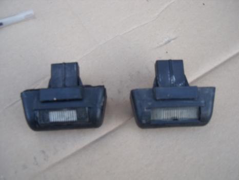 FORD TRANSIT 280 SWB LR VAN 2006-2012 NUMBER PLATE LAMP 2006,2007,2008,2009,2010,2011,2012FORD TRANSIT 280 SWB LR  VAN 2008 NUMBER PLATE LAMP