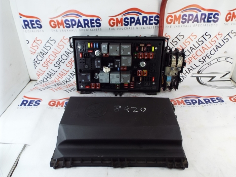 Vauxhall Astra J Mk 6 09 15 Fuse Box With Cover 13313205 Qu Tech2