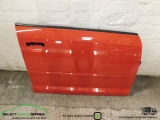 AUDI A3 8P DRIVERS SIDE FRONT DOOR PANEL 2004-2012 2004,2005,2006,2007,2008,2009,2010,2011,2012AUDI A3 8P 5-DOOR SPORTBACK RED DRIVERS SIDE FRONT DOOR PANEL RIGHT 2004-2012 8P4831051 / LZ3M - MISANO RED / NEARSIDE LEFT