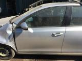 VOLKSWAGEN VW GOLF MK6 2008-2012 DOOR (BARE) - PASSENGER FRONT  2008,2009,2010,2011,2012VOLKSWAGEN VW GOLF MK6 5DR 2008-2012 DOOR (COMPLETE) PASSENGER FRONT - LA7W