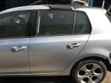 VOLKSWAGEN VW GOLF MK6 2008-2012 DOOR (BARE) - PASSENGER REAR  2008,2009,2010,2011,2012VOLKSWAGEN VW GOLF MK6 2008-2012 DOOR (COMPLETE) PASSENGER REAR - LA7W