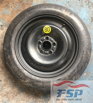 FORD MONDEO EDGE TDCI 5 DOOR HATCHBACK 2007-2013 SPACE SAVER WHEEL 2007,2008,2009,2010,2011,2012,2013FORD MONDEO ZETEC S TDCI 5 DOOR HATCHBACK 2003-2007 SPACE SAVER WHEEL