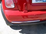 MINI R52 2004-2007 BOOTLID HINGE TRIM (PASSENGER SIDE) 2004,2005,2006,2007MINI R52 CONVERTIBLE PASSENGER SIDE REAR BOOTLID HINGE COVER PLASTIC CHILLI RED