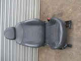 MINI R50 2001-2006 SEAT (FRONT DRIVERS SIDE) 2001,2002,2003,2004,2005,2006MINI R50 R52 R53 2000-2006 DRIVERS HALF LEATHER GREY SEAT AND AIRBAG