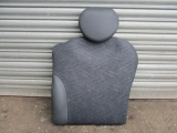 MINI R50 3 DOOR HATCHBACK 2001-2006 SEATS - REAR 2001,2002,2003,2004,2005,2006MINI R50 R52 R53 2000-2006 REAR HALF LEATHER GREY SEAT PASSENGER SIDE