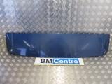 BMW E53 X5 5 DOOR ESTATE 2000-2006 SPOILER (REAR) BLACK SAPHIRE 2000,2001,2002,2003,2004,2005,2006BMW E53 X5 2000-2006 TAILGATE SPOILER IN BLUE IDEAL RESPRAY REF 8