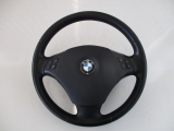 BMW E90 LCI SALOON 2004-2011 STEERING WHEEL AIRBAG 2004,2005,2006,2007,2008,2009,2010,2011BMW 3 Series E90 LCI E91 LEATHER MULTIFUNCTION STEERING WHEEL COMPLETE 6795568  6795568