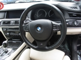BMW F01 LCI 7 SERIES 4 DOOR SALOON 2009-2018 STEERING WHEEL (LEATHER) 2009,2010,2011,2012,2013,2014,2015,2016,2017,2018BMW F01 F02 F04 F10 F11 M-SPORT MULTIFUNCTION LEATHER STEERING WHEEL BREAKING