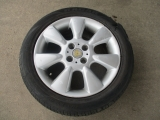MINI R50 MINI ONE 2001-2006 SINGLE ALLOY WHEEL 16 2001,2002,2003,2004,2005,2006MINI R50 R52 R53 6.5 X 16 7 SPOKE 92 SINGLE ALLOY WHEEL GENUINE 6763297 CS1 6763297