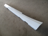 BMW F21 1 SERIES 5 DOOR HATCHBACK 2011-2017 SILL CUT (PASSENGER SIDE) WHITE 2011,2012,2013,2014,2015,2016,2017BMW F21 F22 F23 1 SERIES  2010-2017 SILL COVER SIDE SKIRT DRIVER SIDE WHITE