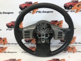 Nissan NAVARA Tekna 2005-2015 STEERING WHEEL (LEATHER)  2005,2006,2007,2008,2009,2010,2011,2012,2013,2014,2015NISSAN Navara NISSAN Navara Tekna Leather steering wheel 2005-2015 2005-2015  Ford Ranger 2006-2012 Steering Wheel (leather)