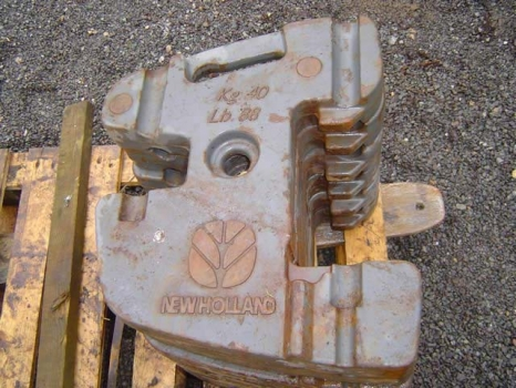 Westlake Plough Parts – New Holland Tractor 40kg Front Weight TP1040