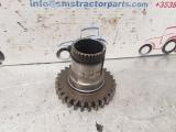 John Deere 3130 Transmission Gear Shaft Z29 T28721  1979,1980,1981,1982,1983,1984,1985,1986,1987,1988,1989,1990,1991,1992,1993,1994John Deere 3030, 3130, 3120 Transmission Gear Shaft Z29 T28721  T28721  3120 3030 3130 Transmission Gear Shaft Z29  Part Numbers: T28721  1437-110221-122650058