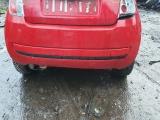 Fiat 500 3 Door 2007-2015 BUMPER (REAR) Red  2007,2008,2009,2010,2011,2012,2013,2014,2015Fiat 500 3 Door 2007-2015 Bumper (rear) Red BREAKING