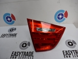 BMW 320D E90 M SPORT 4 DOOR SALOON 2005-2012 REAR/TAIL LIGHT ON TAILGATE (PASSENGER SIDE) 7289427 2005,2006,2007,2008,2009,2010,2011,2012BMW 3 SERIES E90 LCI 2008-2012 REAR/TAIL LIGHT ON TAILGATE LEFT SIDE 7289427 7289427