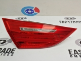BMW 3 SERIES E90 4 DOOR 2005-2008 REAR/TAIL LIGHT ON TAILGATE (PASSENGER SIDE) 7154155 2005,2006,2007,2008BMW 3 SERIES E90  LCI 4 DOOR 2008-2012 REAR BOOT LIGHT LEFT PASSENGER 7154155 7154155