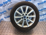 2015 FORD FOCUS TITANIUM ALLOY WHEEL + TYRE ALLOY WHEEL + TYRE GREY F1EC1007B3B #1 2010,2011,2012,2013,2014,2015,2016,2017,2018,2019,20202015 FORD FOCUS TITANIUM 16