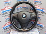 BMW 120D E82 M SPORT LCI 2007-2013 STEERING WHEEL WITH MULTIFUNCTIONS  2007,2008,2009,2010,2011,2012,2013BMW 120D E82 M SPORT STEERING WHEEL WITH MULTIFUNCTIONS *72