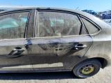 Volkswagen Polo Gp 1.4 Comfortline 5 Door Saloon 2002-2019 DOOR BARE (REAR PASSENGER SIDE) Black  2002,2003,2004,2005,2006,2007,2008,2009,2010,2011,2012,2013,2014,2015,2016,2017,2018,2019Volkswagen Polo Gp 1.4 Comfortline 5 Door Saloon 2002-2019 Door Bare (rear Passenger Side) Black